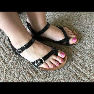 SAS Pampa Sandals Black
